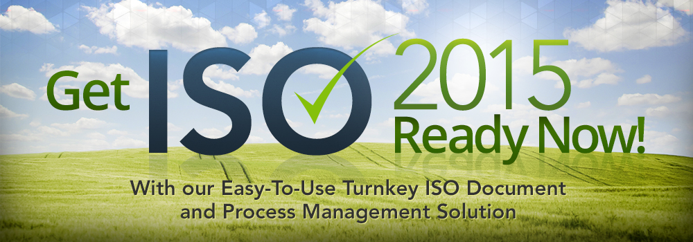 Get ISO 2015 - Ready Now